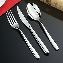 Besteck 3-teiliges Luxusbesteck Edelstahl Geschirr