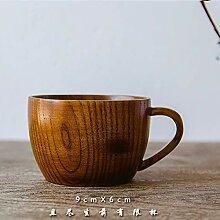 Besteck Holzgriff Tasse Teacup Holzgriff Tasse