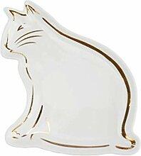 Besteck Keramik Geschenk Tier Weißgold