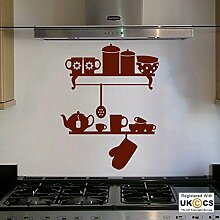 Besteck Küche Regale Teekanne Ofenhandschuh