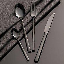 Besteck Luxus Black für 6 Personen, 44 × 33 ×