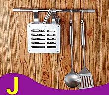 Besteck Racks Regal Edelstahl Küchengestell / Wandbehang Küchenregal ( Farbe : 4* )
