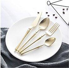 Besteck Set 24 Stück Set Gabeln Messer Löffel