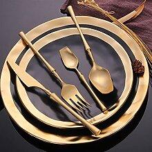 Besteck Set Mirror Gold Besteck Set Edelstahl