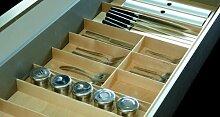 Besteckeinsatz FineLine für 100cm Schublade Birke