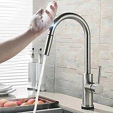 Besteffie Touch-Küchenarmatur mit herausziehbarer