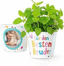 Bester Bruder Geschenk - Blumentopf (ø16cm) |