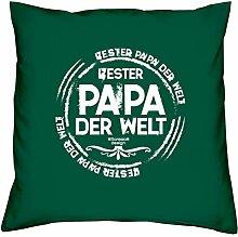 Bester Papa der Welt :: Geschenk-Set: Kissen inkl.
