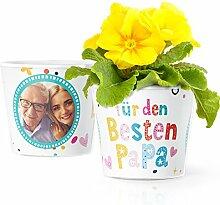 Bester Papa Geschenk - Blumentopf (ø16cm) |