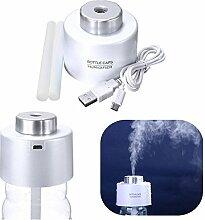 Bestfire® Mini USB Luftbefeuchter, Ultraschall Luftbefeuchter, Purifier Diffusor für Office Reise Home Room Bedroom Schreibtisch Auto Träger