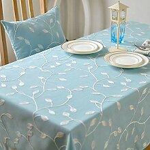 Bestickte Tischdecke Polyester Baumwolltuch Art