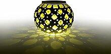 Bestland LED Solarlampe Farbwechsel Mosaik Lampe