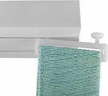 Flairdeco Schlaufengleiter Universal 16 St/ück Transparent Plastik