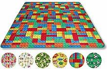 Bestlivings Picknickdecke Fotodruck, Auswahl: Größe - 300x200 cm Design - Brick, Reiseunterlage Campingdecke Stranddecke