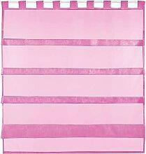 Bestlivings Pinke Bistrogardine Transparent mit