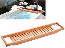 BESTOMZ Badewannenbrett aus Bambus