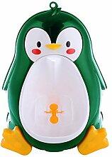BESTOMZ Kinder WC Töpfchen Frosch-Form Urinal Badezimmer Kindertoilette Toilettentrainer für Jungen (grün)