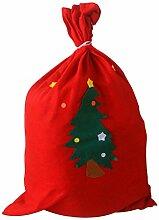 BESTOMZ Weihnachtssack Nikolaussack Weihnachten