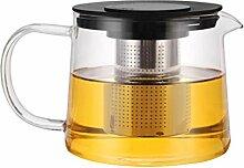 BESTONZON 1000 ml Glas Teekanne Teebereiter
