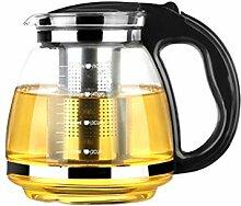 BESTONZON 1500 ml Teekanne Set mit Infuser Glas
