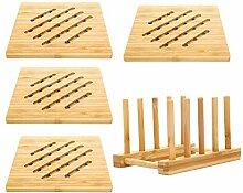 BESTONZON 5 stücke Kreative Bambus