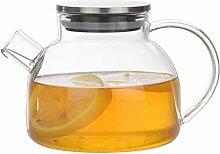BESTONZON 500 ml Haushalts-Glas-Teekanne