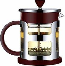 BESTonZON 600 ML Glas Teekanne Teebereiter