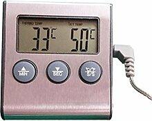 BESTONZON Digital Cooking Food Fleisch-Thermometer