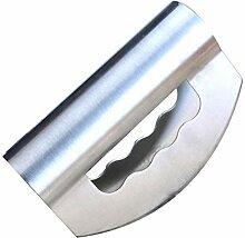 BESTonZON Edelstahl Messer Doppelklinge