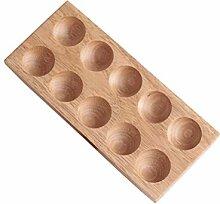 BESTONZON Holz Eierhalter Eierständer