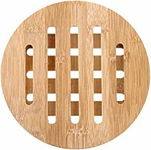 BESTONZON Holz Untersetzer Tasse Schüssel Pad