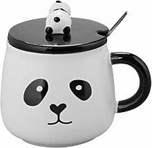 BESTONZON Kreative Cartoon Panda Keramik Becher 3D