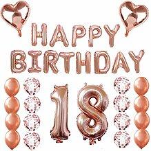 BESTOYARD 18. Alles Gute zum Geburtstag Ballons