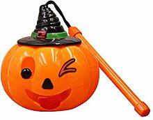 BESTOYARD Halloween Kürbis Windlicht Laterne