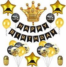 BESTOYARD Happy Birthday Girlande mit