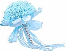 BESTOYARD Hochzeit Blumenstrauß Brautstrauß mit