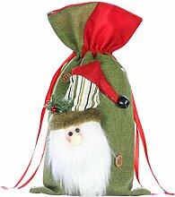 BESTOYARD klein Weihnachten Sack Nikolaussack