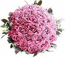 BESTOYARD Künstlicher Brautstrauß romantische