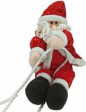 BESTOYARD Weihnachtsmann am Seil Kletternder
