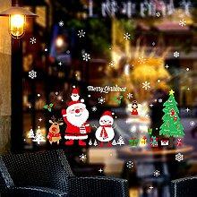 BESTQIAO Weihnachten Doppelseitige