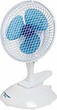 Bestron 2-in-1 Tisch-/Clip-Ventilator, Vertikal