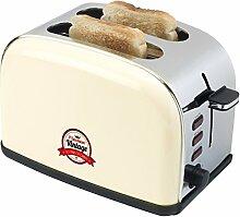 Bestron ats100re Toaster/Grill Brot für 2Tranche Elfenbeinfarben