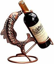 BESTSOON Weinregale Weinflaschenhalter Aus Metall,