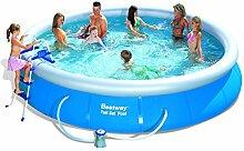 Bestway 57124 Fast Set Pool Set mit Filterpumpe +