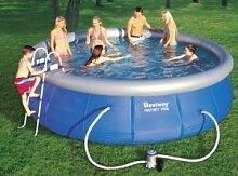Bestway 57127GS Fast Pool Set mit Filterpumpe GS,
