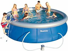 Bestway 57127GS Fast Pool Set mit Filterpumpe GS, 457 x 107 cm
