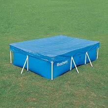 Bestway Abdeckplane Frame Pool Metallrahmenpool 399 x 211 cm