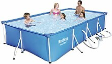 Bestway Familien Swimming Pool Fast Pool Set mit
