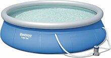 Bestway Fast Set Pool, blau, 396 x 84 cm