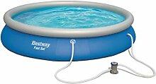 Bestway Fast Set Pool, rund, blau, 457 x 84 cm